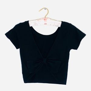 WET SEAL cropped top with a ribbon